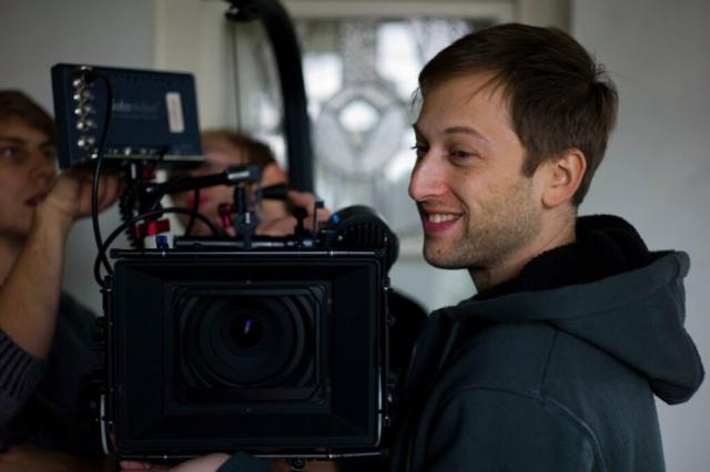 Mark Hellinger on set