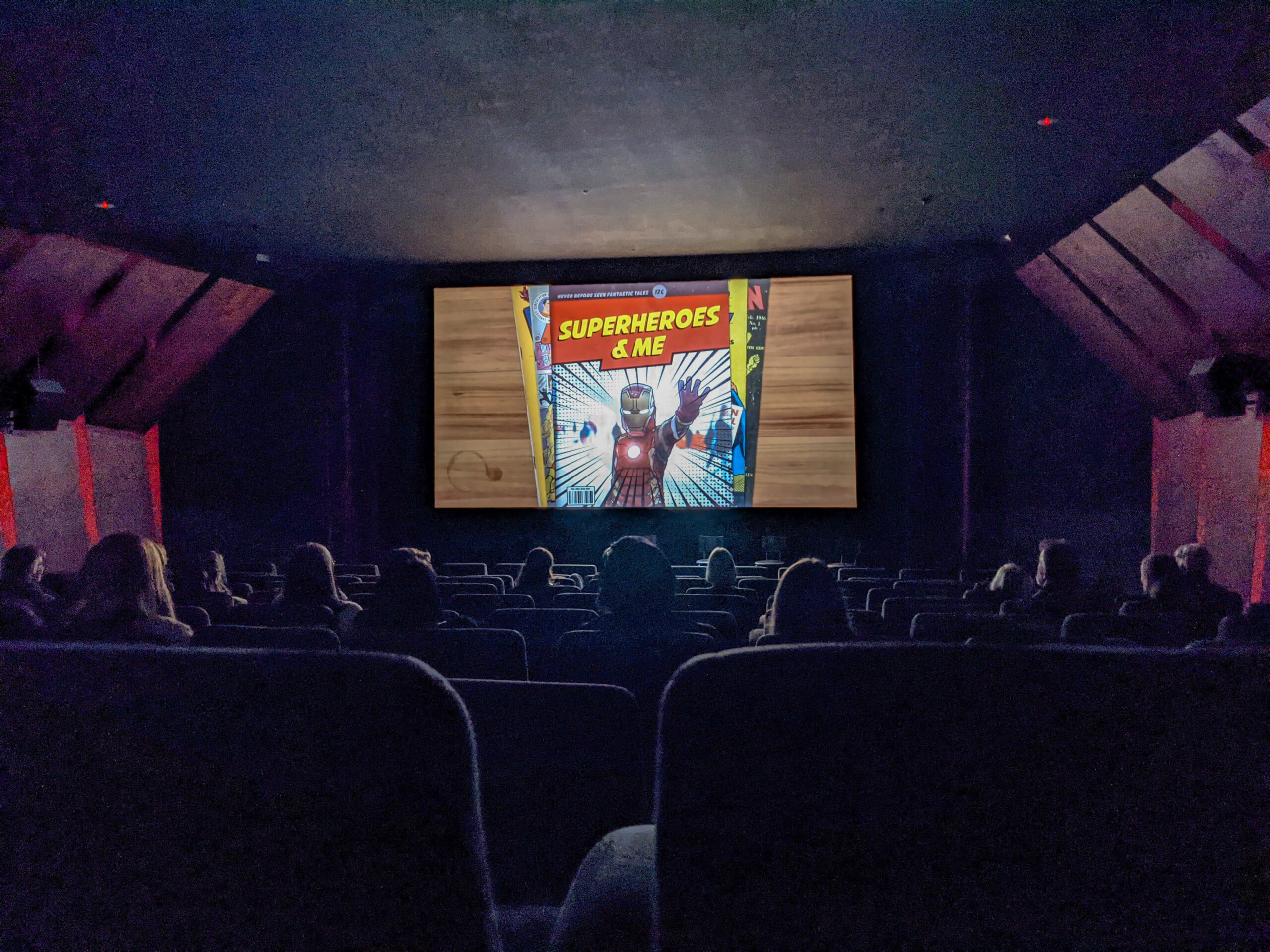 Melbourne Documentary Film festival screening Superheroes and Me