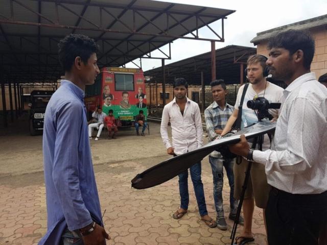 India's New Game shoot. Mark Hellinger