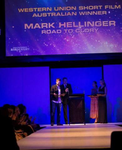 Mark Hellinger-  Best Australian Short at Indian Film Festival Melbourne