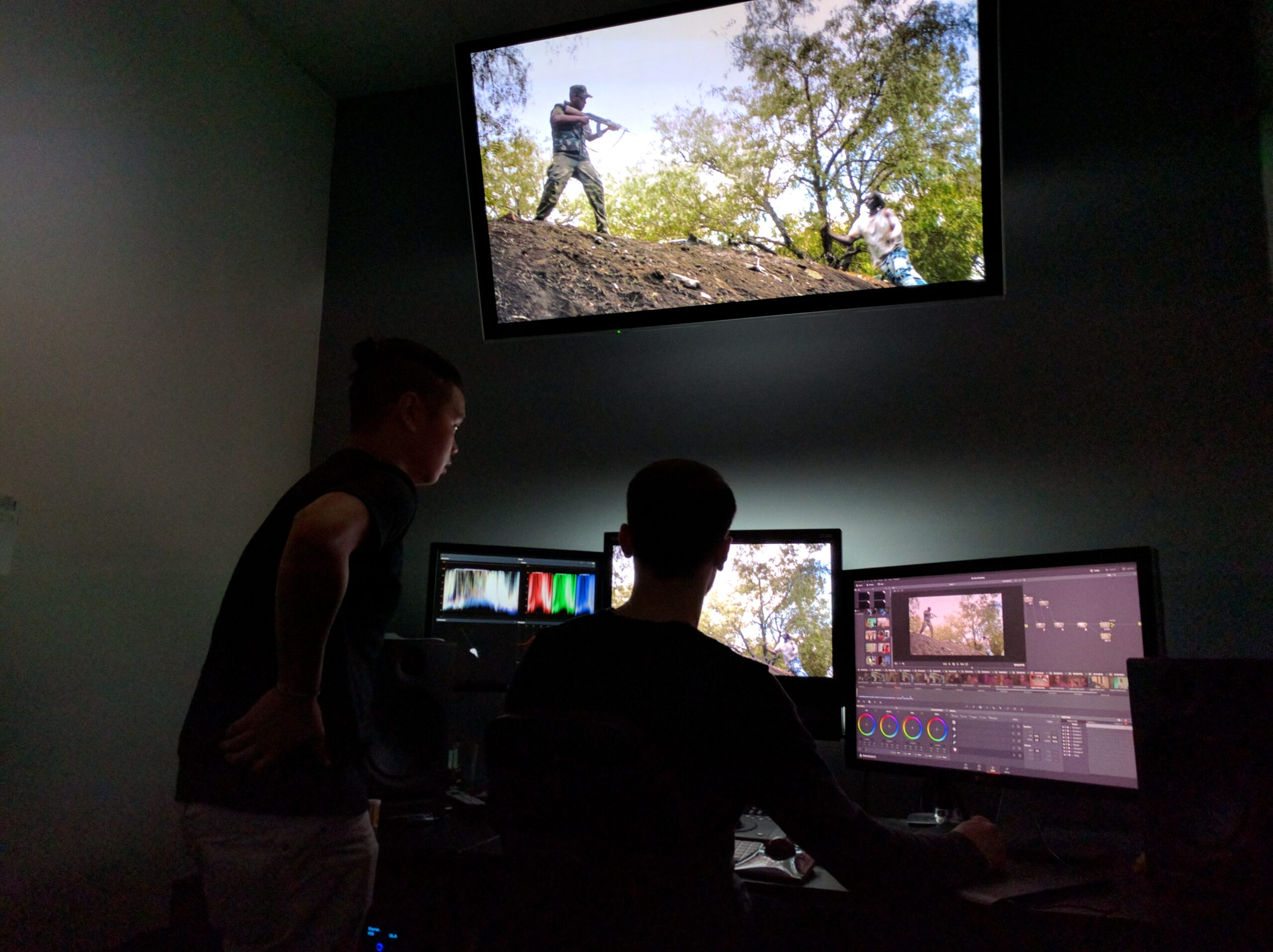 Be a A Brother Colour Grade. Nick Hower and Rod Th'ng.