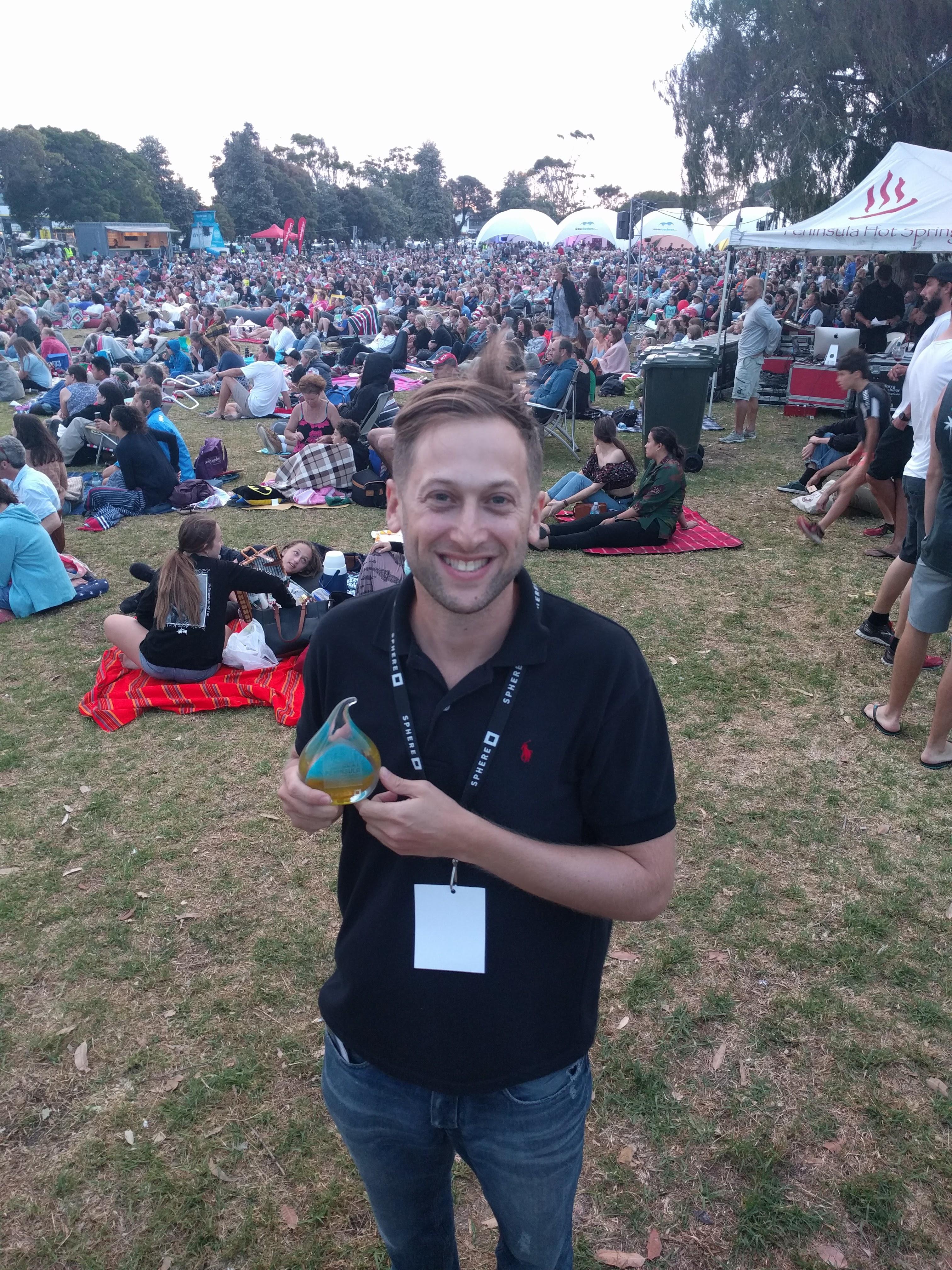 Mark Hellinger Best documentary Peninsula Film Festival