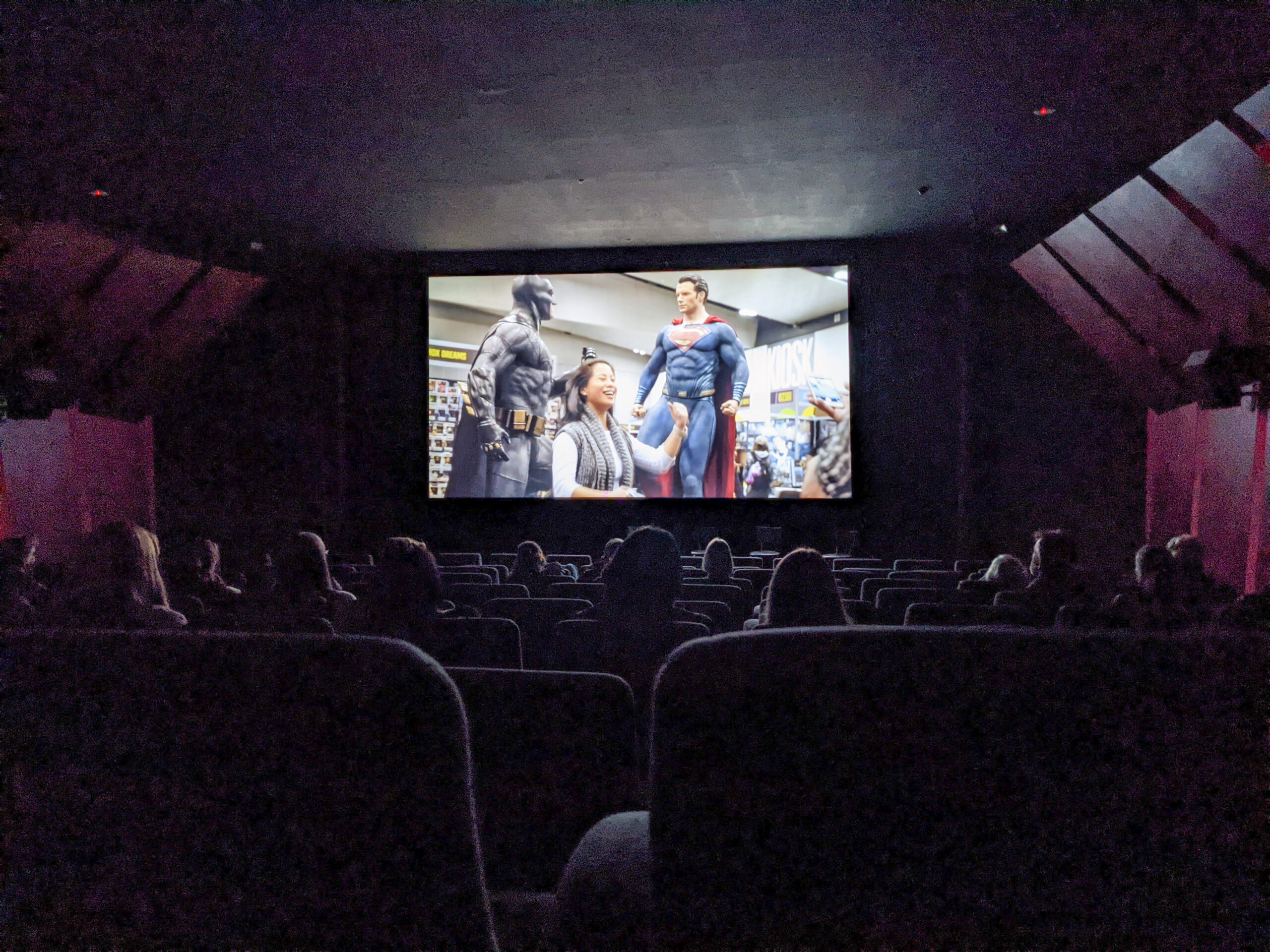 Melbourne Documentary Film festival screening of Superheroes and Me