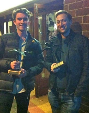 Jesse Maskell & Mark Hellinger Audience Choice Award at Setting Sun Film Festival